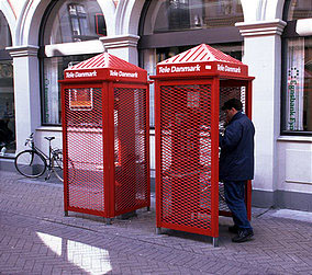 Boks Telpon, desain Utzon Associates