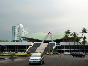 Gedung MPR/ DPR, Senayan, Jakarta