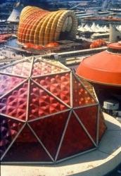 Bangunan Expo Tokyo karya Kenzo Tange
