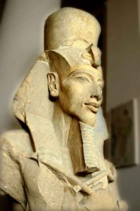 Patung Akhenaten ( fir'aun Imhotep IV )