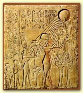 Salah satu bilah Amarna yang ditemukan.