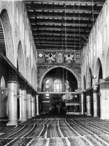 Interior Masjid Aqsa