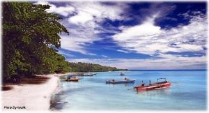 Pasir putih di Bunaken