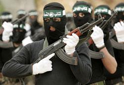 Pejuang Hamas, mempertahankan sisa tanah Palestina hingga titik darah penghabisan.
