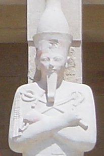 Patung firaun wanita, Hatshepsut