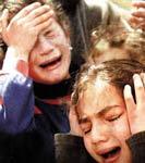 Melihat anggota keluarga dibantai. Anak2 Palestina dicekam ketakutan dan maut setiap waktu.