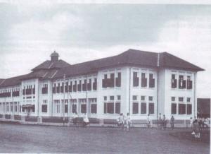 Hogere Burger School, dahulu. Kini SMU 3, Jl.Belitung, Bandung.