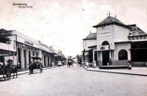 Jl.Braga, Bandung, dahulu.