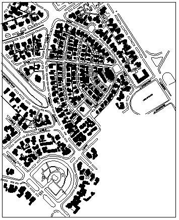 Peta kawasan Cilaki, Bandung, dahulu.