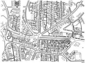 Peta kawasan Dago, Bandung