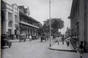 Jl. Asia Afrika, Bandung, dahulu.