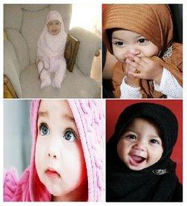 Bayi2 muslimah nan cantik, menggemaskan.
