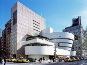Museum Guggenheim, karya Frank Lloyd Wright