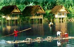 Kampung Sampireun, Garut.