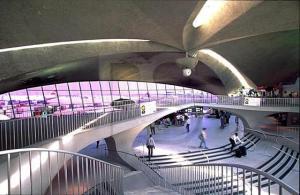 Interior bandara TWA