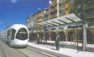Angkutan umum di Perancis.