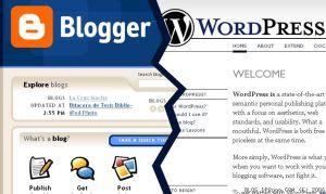 Persaingan antara Blogger dan WordPress, sampai pengguna WordPress  di black list oleh sebagian penyelenggara ppc terutama Google Adsense.