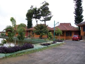 Bungalow di Kampoeng Strawberry