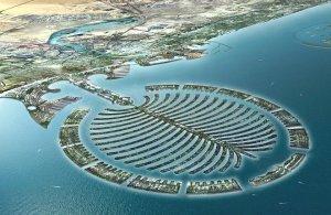 Palm Island, Dubai.