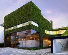 Green Building di Seoul, Korea Selatan. Hijau nan sejuk.
