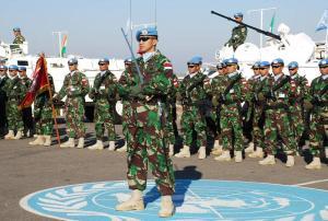 Pasukan TNI di Lebanon