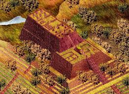 Perkiraan situs Gunung Padang ribuan tahun lalu, ketika masih digunakan leluhur.